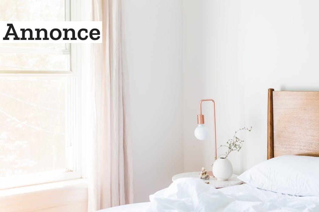 Korrekt belysning i soveværelset skaber fornyelse og bedre rammer